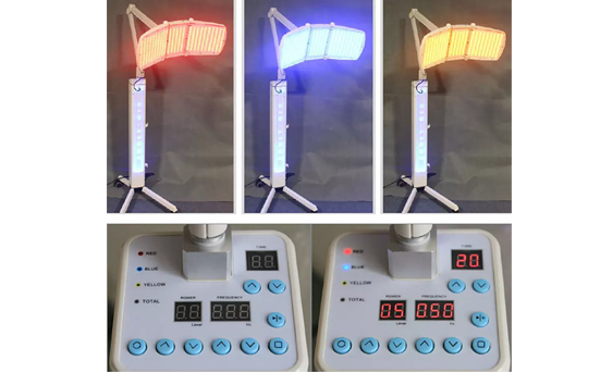 KMS020 LED Light Therapy Machine with 7 light colors