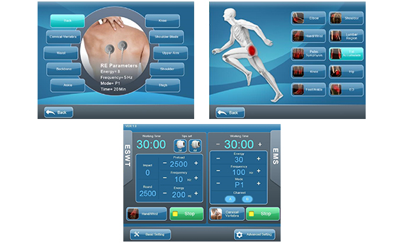 EMSWAVE shockwave therapy machine