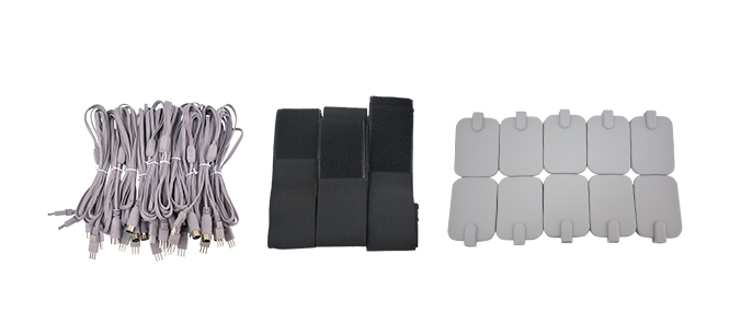 EMS Muscle Stimulation Machine with Heating Accessories