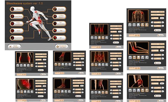KMSLASER Radial Shockwave Therapy Machine