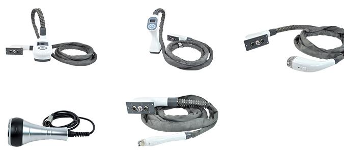 N8 Vela shape Vacuum RF Facial Machine Accessories