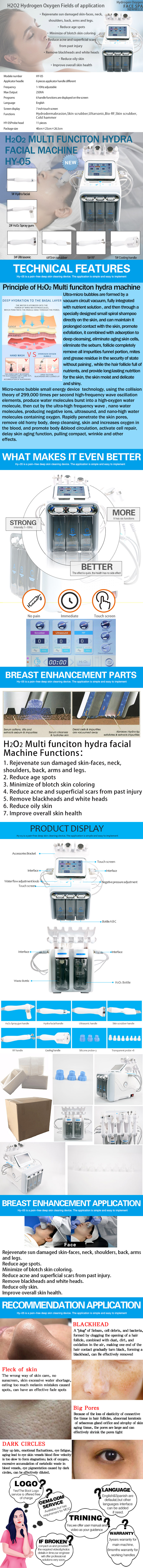 SPA02 Hydrafacial Equipment product details