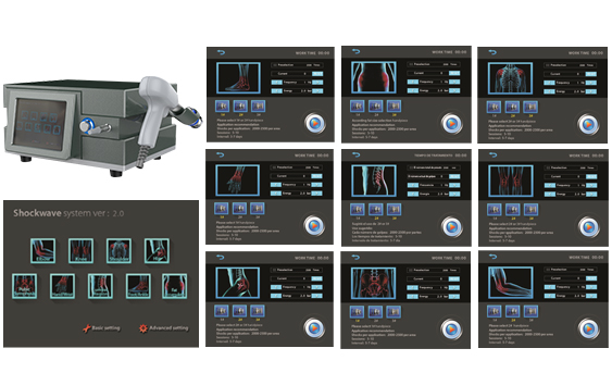 SW16 Shockwave Therapy Device