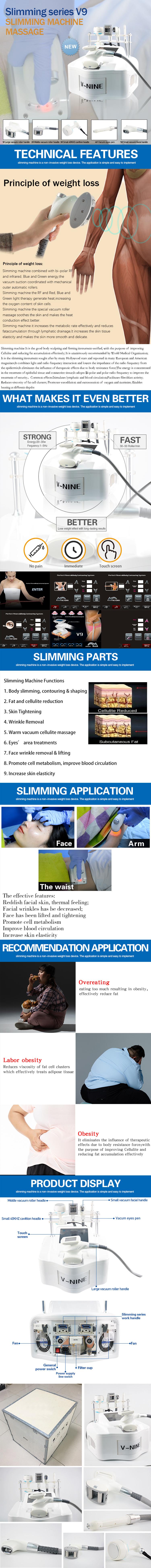 V9 Body Slimming Machine product details