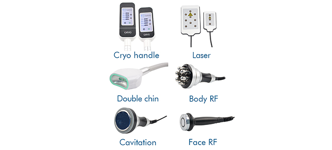 CRYO03 Fat Freezing machine-Accessories