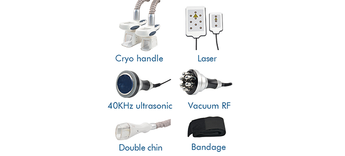 Fat freezing cooling machine-Accessories