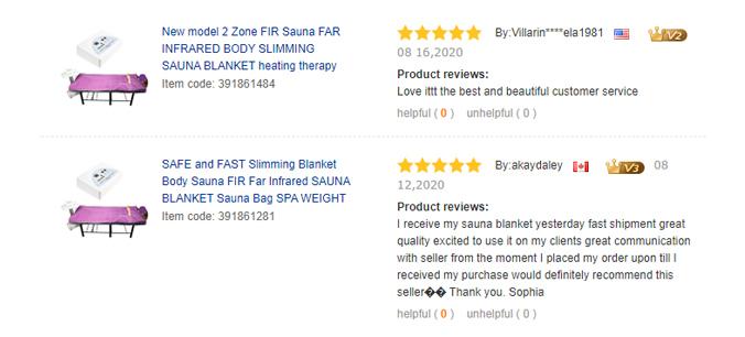 Infrared Sauna blanket- Product Description
